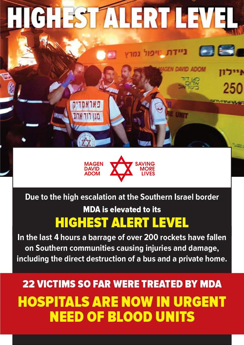 Israeli E M S  Organization Dramatically Reduces Time It Takes to